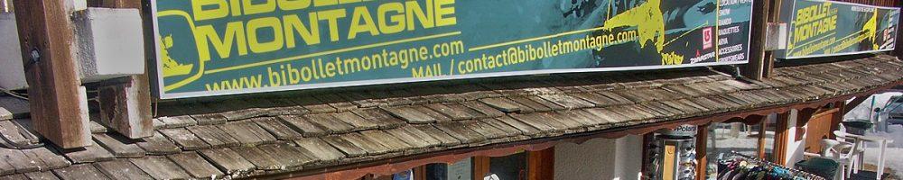 BIBOLLET MONTAGNE VOTRE MAGASIN DE LOCATIONS / VENTE AU PIED DES PISTES DU PLAN.